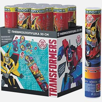 """Трансформеры - Хлопушка """"Transformers"""",30 см (конфетти с героями) обложка книги"""