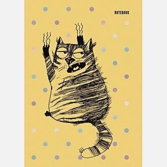 Графика. Черный кот (А6, 96 л.)