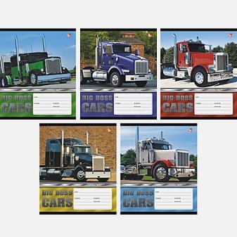 Мощные грузовики (линия), 5 видов