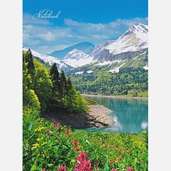 Пейзаж. Озеро в горах (А6, 96 л.)