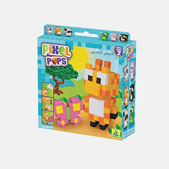 Игрушка. Pixel Pops. Жирафик