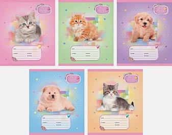 Пушистые любимцы (котята и щенята) (клетка), 5 видов