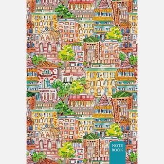Графика. Красочный город (А5-, 80л.)