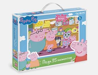 Свинка Пеппа.Пазл.35 гиг.Магазин игрушек.01545