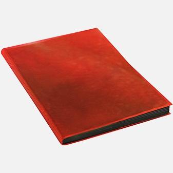 Ежедневник Chameleon недатированный, А5, 136 листов, красный