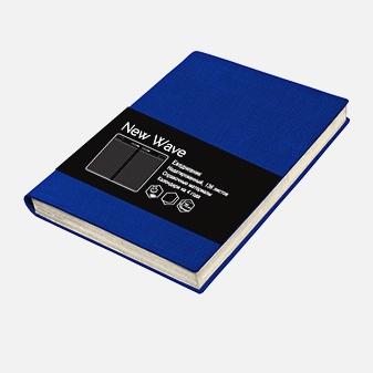 New Wave. Синий  136л. А5 (145х210)