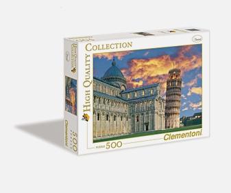 Пазл 500эл. Италия. Вид на Пизанскую башню
