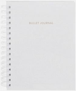 Блокнот в точку: Bullet journal (белый)