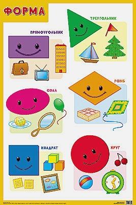 Нафиков Р. М. - Развивающие плакаты. Форма обложка книги