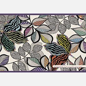Волшебные листья (орнамент)