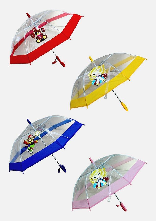 """Зонтик """"КАРТИНКИ"""", радиус 48,5 см,п/автомат,в асс."""