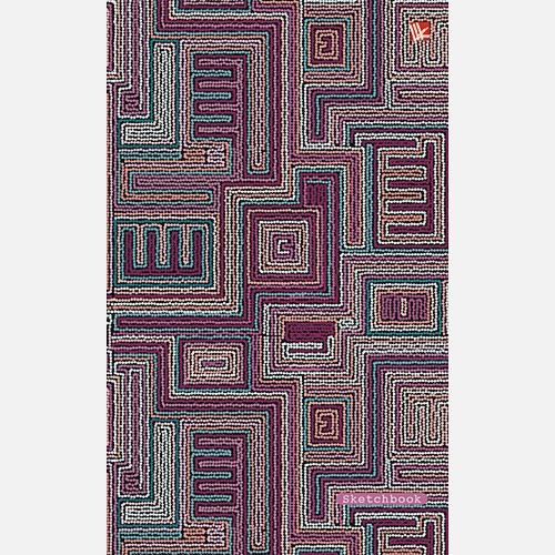 Геометрический орнамент 100л. (143х213 мм)