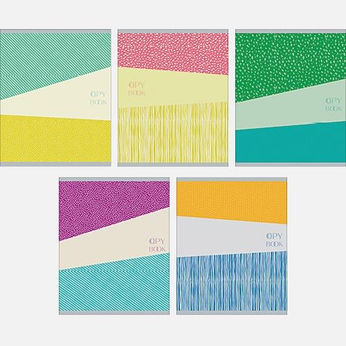 Разноцветная серия (текстуры) 40л., 5 видов