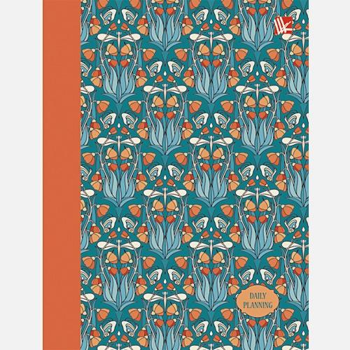 Орнамент. Цветы и бабочки (поролон) 128л. А6