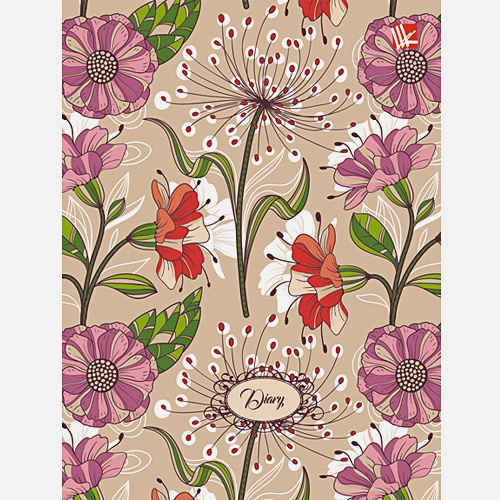 Цветы. Прекрасное настроение (поролон) 128л. А6