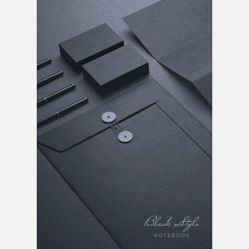 Офисный стиль. Идеальный черный (А4, 100л.)