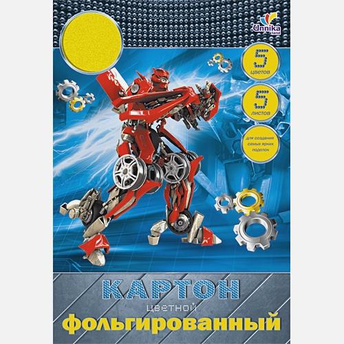 Робот. Дизайн 7 (ЦКФ5502) А4 5л.5ц.