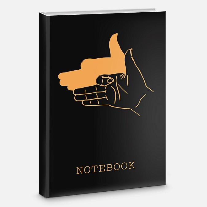 Книга для записей «Игра теней», А5, 80 листов