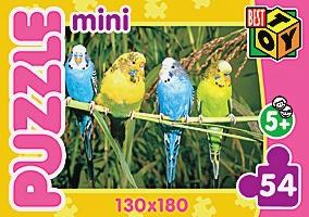 Пазл Мини.54Эл.Мир животных.4 вида.5411