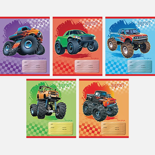 Мощные авто (линия), 5 видов