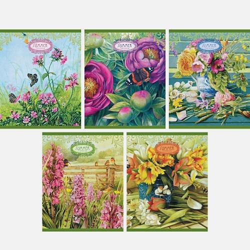 Цветочное настроение 96л.,5 видов