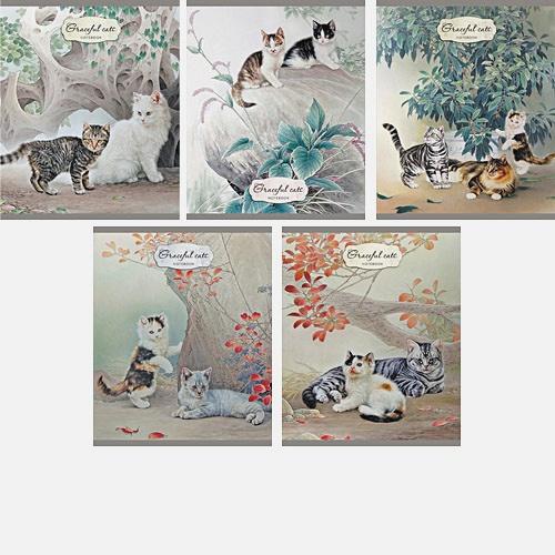 Котята (Graceful cats) 96л,.5 видов