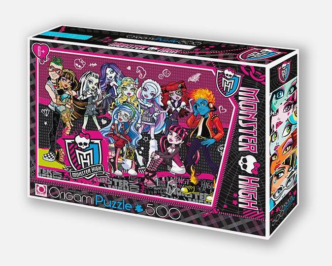 Monster High.Пазл.500A.Чем.05490+маркер с блёстками
