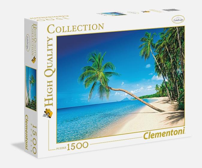 CLem.Пазл. 1500эл. Классика.31669 Карибские острова (n)