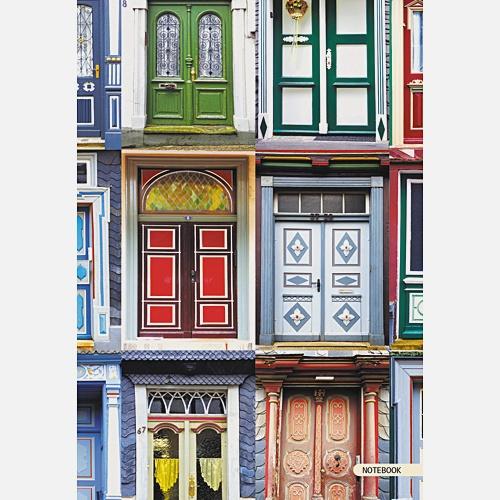 Городской стиль. Архитектурные мотивы (А6, 64 л.)