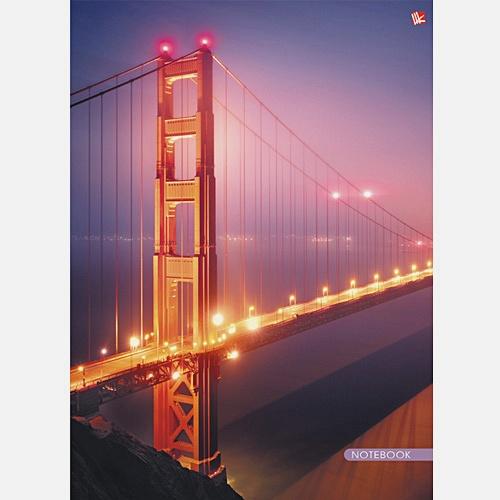 Городской стиль. Ночной мост 100л.