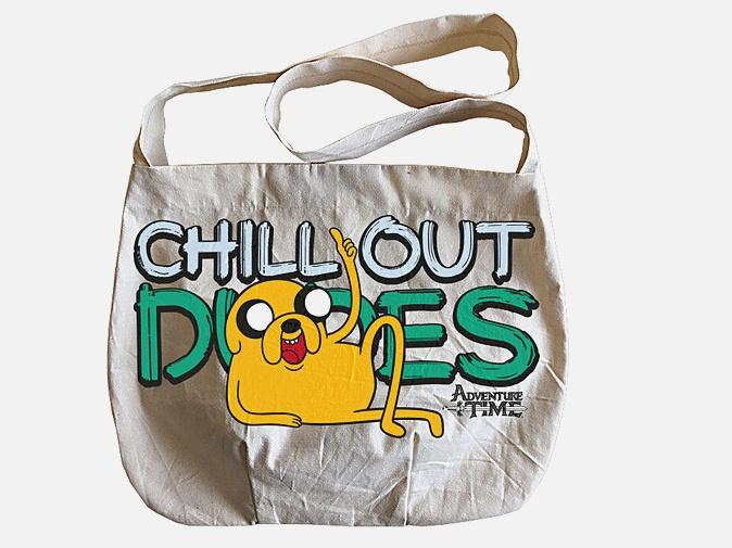 Сумка. Джейк. Adventure Time (сумка-почтальон) (комплект)