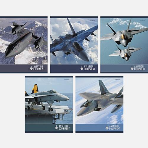 Авиационная техника 48 л., 5 видов