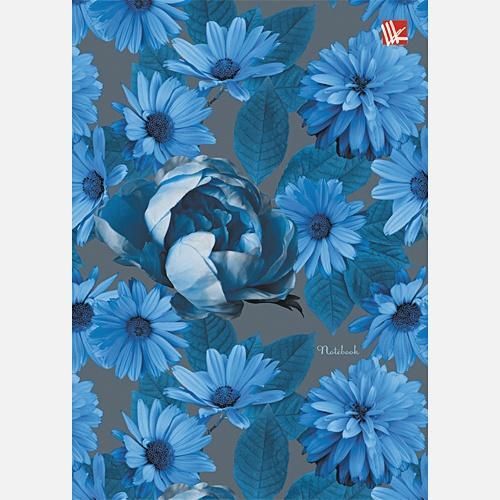 Цветы. Голубое сияние 80л.