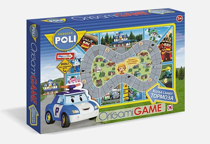 Настольная игра «Робокар Поли. Когда сдают тормоза»