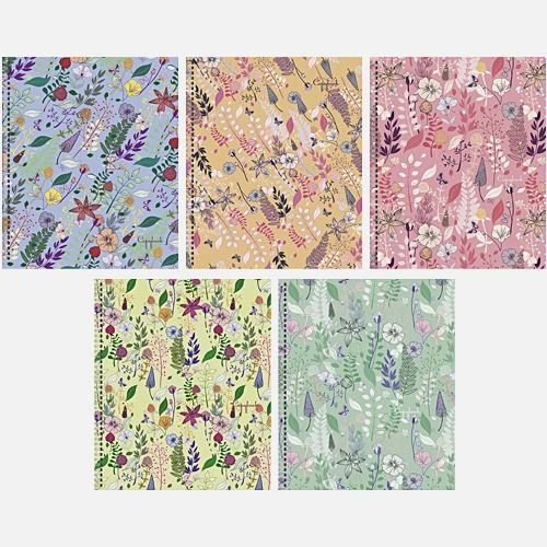 Летние краски (орнамент) 48 л., 5 видов