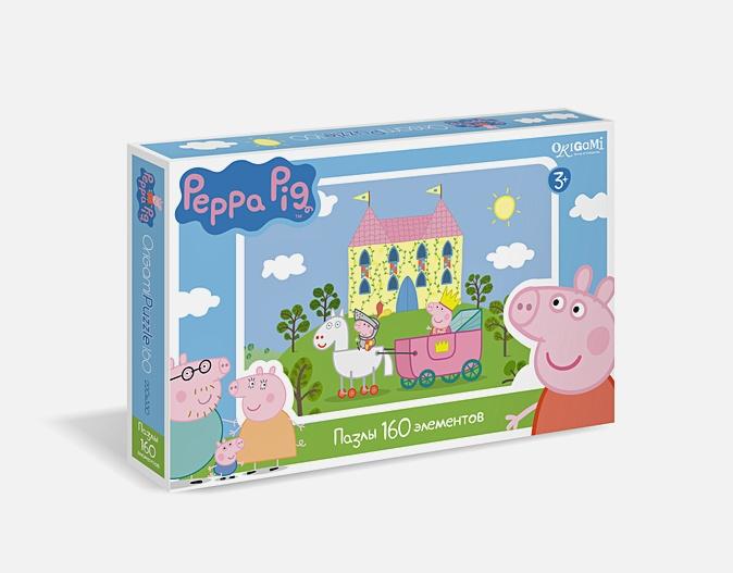 Пазл 160 эл. Свинка Пеппа. Замок