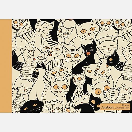 Черное и белое (коты)