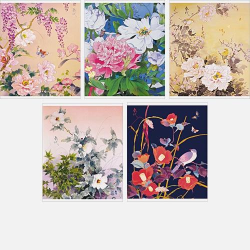 Japanese collection. Цветы. ЛИЦЕНЗИЯ. 96л., 5 видов