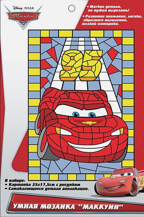 """Disney Тачки - Умная мозаика """"МАККУИН"""", 25X17,5см, ТМ Disney обложка книги"""