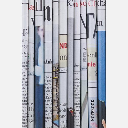 Офисный стиль. Газетные полосы (А5, 130л.)