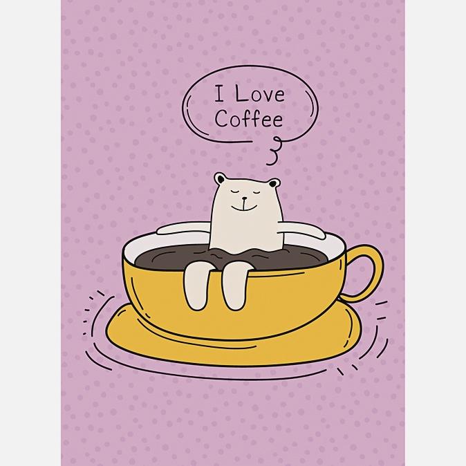 Утро белого мишки