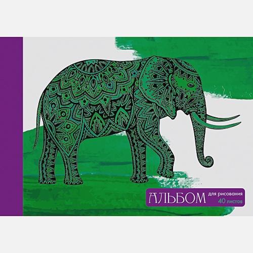 Игра цвета (слон)