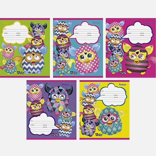 """""""Furby"""". Разноцветный мир (клетка), 5 видов"""