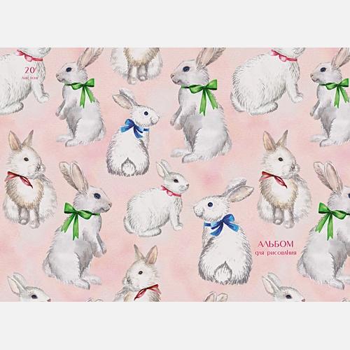 Нарядные зайцы (гребень, 20л.)