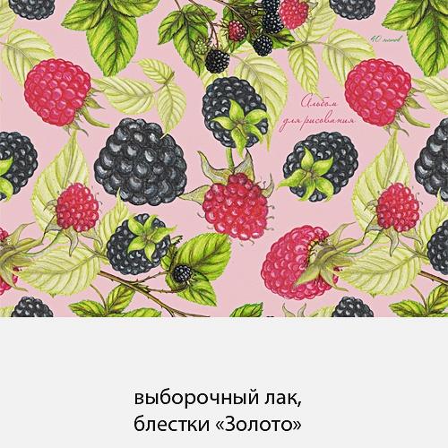Малина и ежевика (графика) (гребень, 40л.)