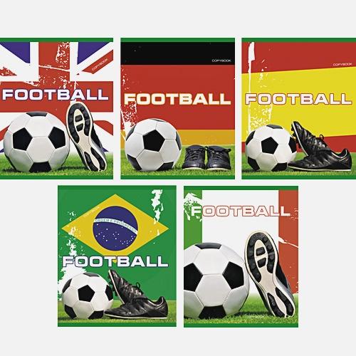 Футбол (мяч) 48л., 5 видов