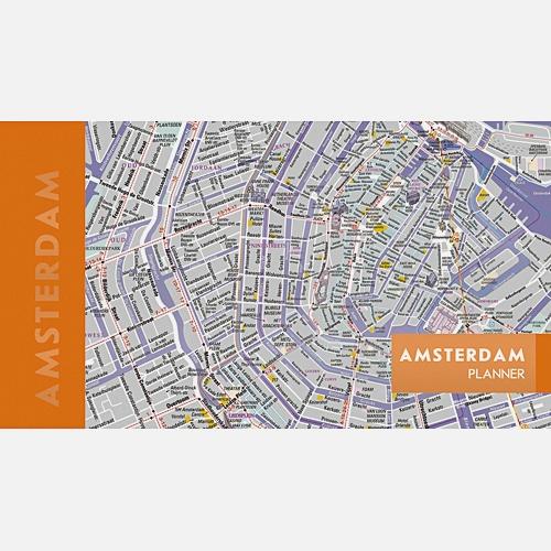 Планинг карманный «Карта города» недатированный, 64 листа