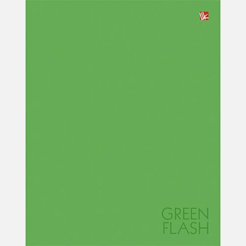 Цвета года. Зеленая вспышка А5 96л.