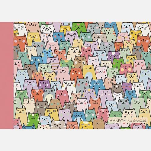 Радужные коты (графика)