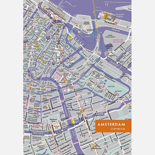 Графика. Карта Амстердама (А4, 96л.)